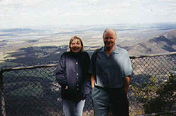 Dad & Mandy in the Grampians