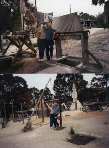 Mum & Dad at Sovereign Hill